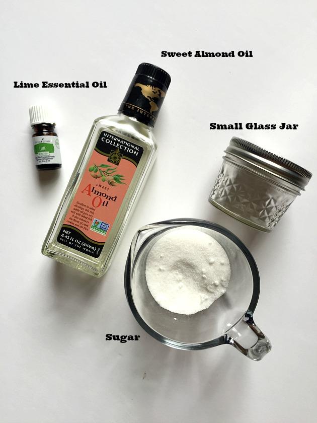 Sugar Lime Homemade Exfoliating Body Scrub