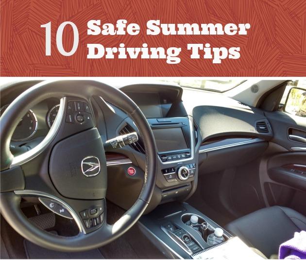 Safe Summer Driving Tips