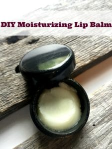 DIY Moisturizing Lip Balm