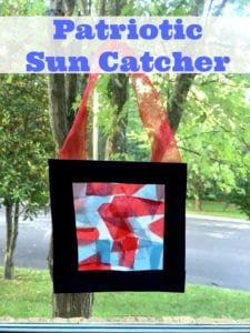 How To Make A Patriotic Sun Catcher