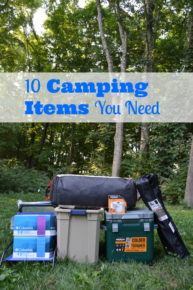 camping items you need