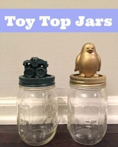 Toy Top Jars Activity