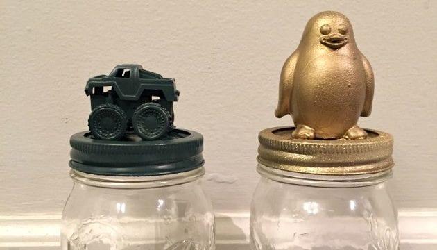 Toy Top Jars Activity