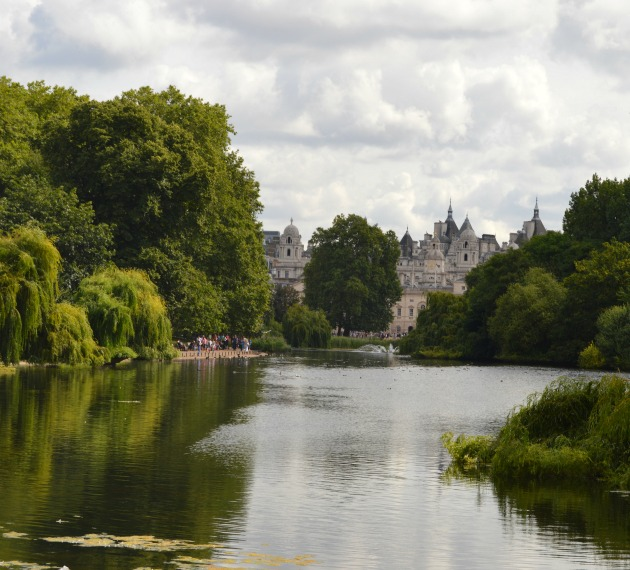 View from St James's Park