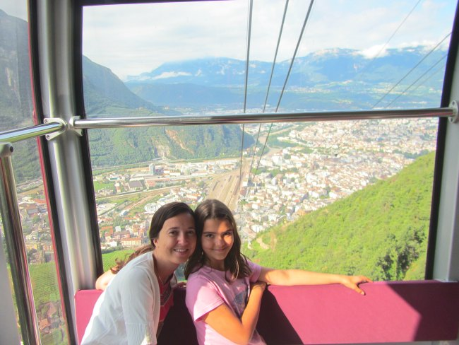 Renon Cable Car Bolzano
