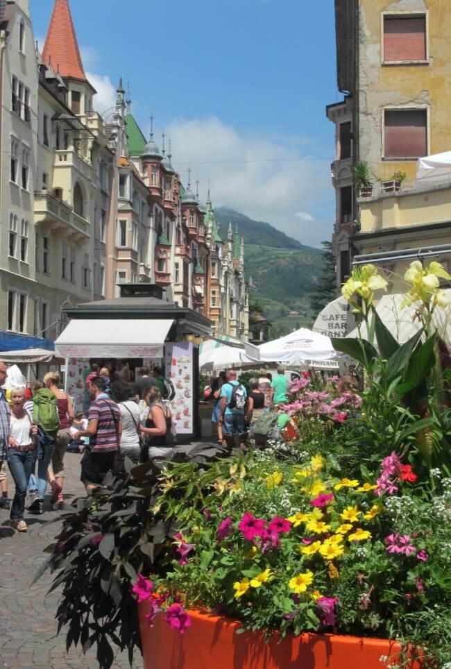Streets of Bolzano Italy