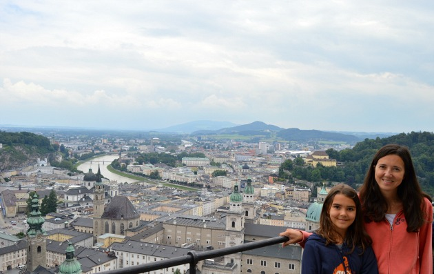Europe Itinerary 2 weeks- View of Salzburg