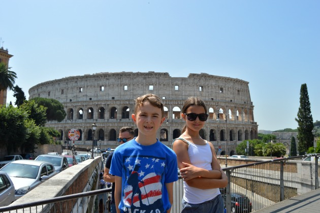 colosseum - Italy Travel Itinerary With Kids