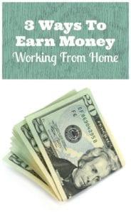 earn money working home