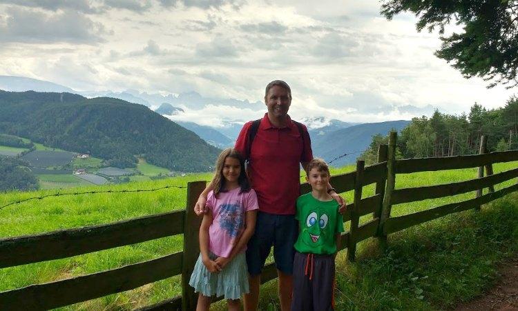 hiking to Bolzano