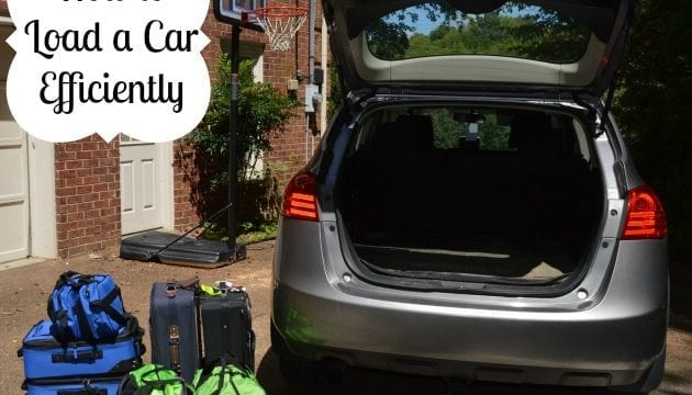 How To Load A Car For Your Family Getaway