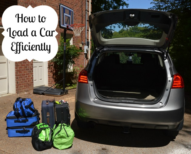 how to load a car