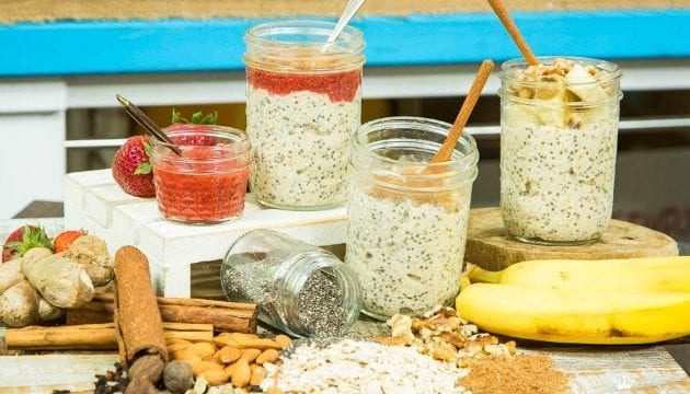 3 Healthy Overnight Oats Jar Recipes You Will Find Delicious