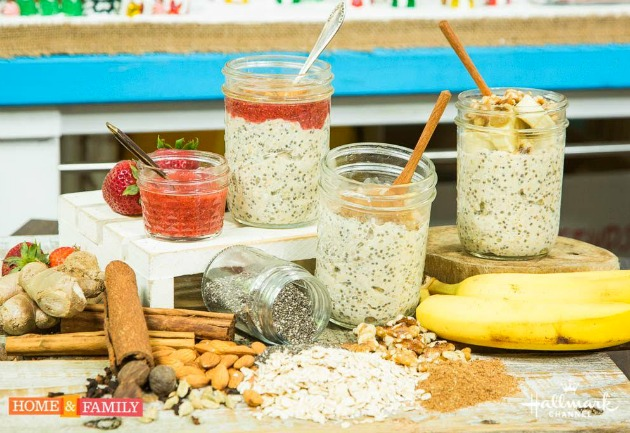 overnight oats jar recipes