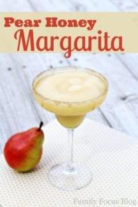 Pear Honey Margarita