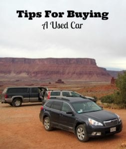 tips buying used car