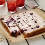 Blueberry Yogurt Lemon Bars Recipe