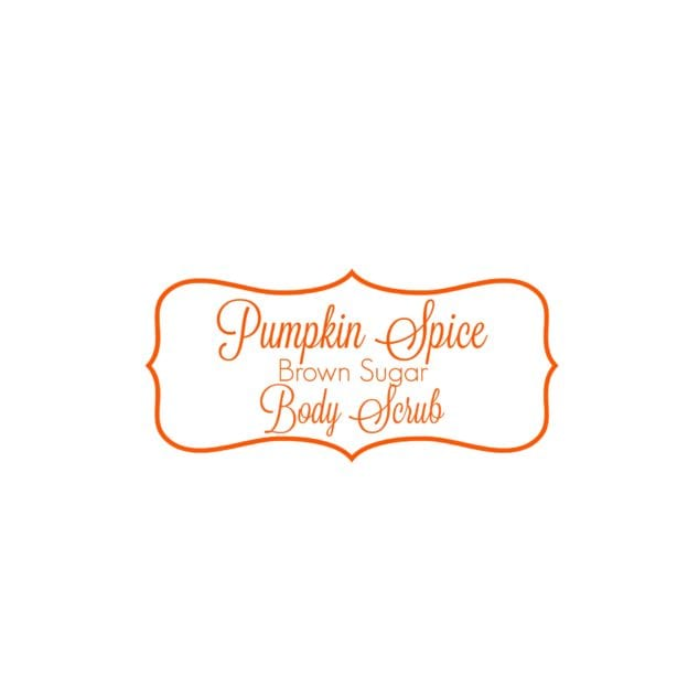 Pumpkin Spice Brown Sugar Body Scrub
