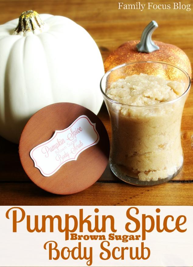 DIY Pumpkin Spice Brown Sugar Body Scrub