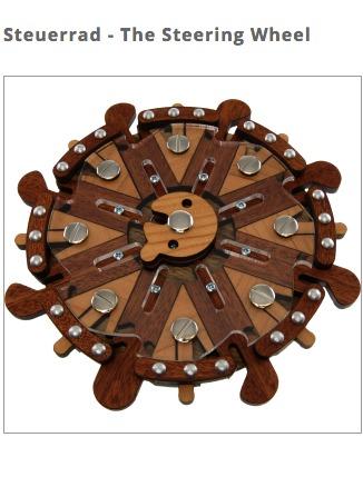 Steering wheel puzzle
