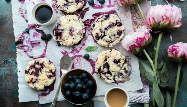 Recipe For Blueberry Scones With Thyme