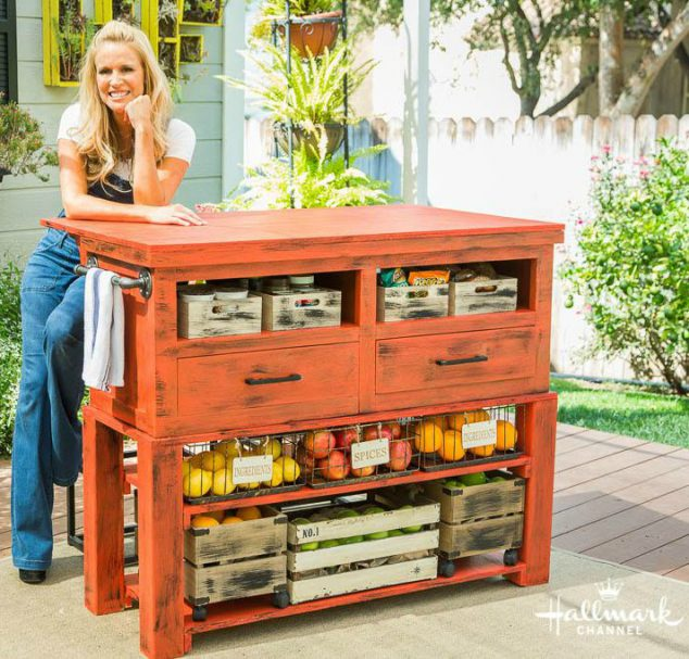 Build A Diy Kitchen Island Build Basic: Make Your Own Kitchen Island Out Of An Old Coffee Table