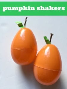 Pumpkin Shakers: A Toddler Craft for Fall