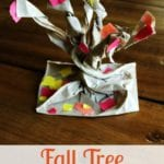 Fall Preschool Craft: Make A 3D Tree With Fall Foliage
