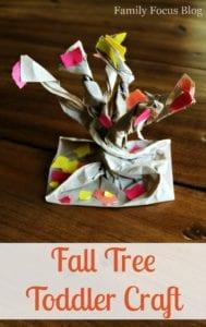 Fall Preschool Craft: Make A 3D Tree With Fall Foliage