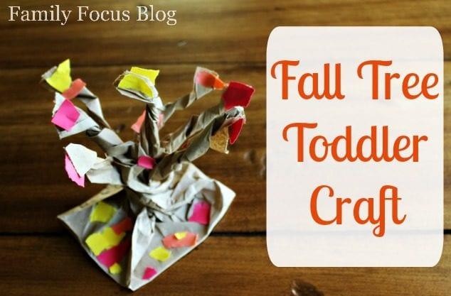Fall Tree Toddler Craft