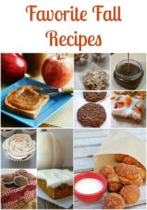Favorite Easy Fall Recipes