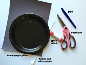 Paper Plate Bat Craft for Children
