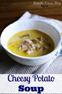 Easy Cheesy Potato Soup Recipe