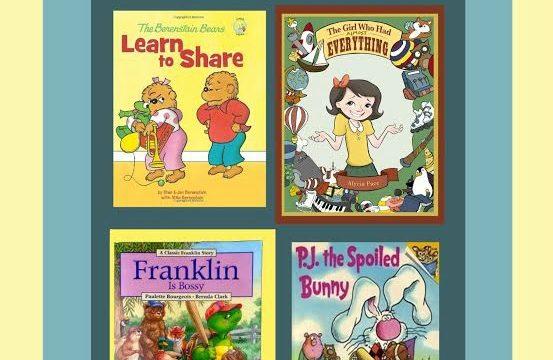 4 Children's Books to Overcome Entitlement Attitude