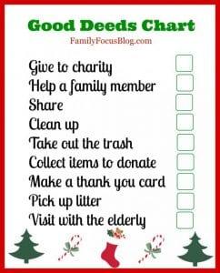 good deeds chart kids