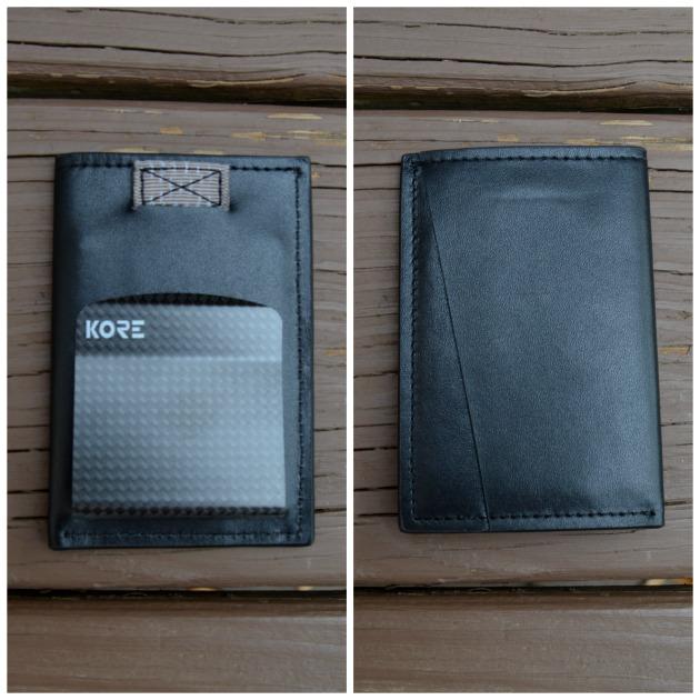RFID blocking wallet men