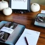 Free Printable Thanksgiving Place Cards and Placemats