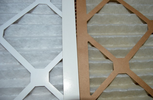 how to change air filter in house