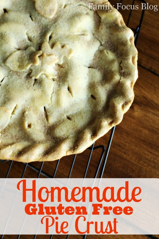 Homemade Gluten Free Pie Crust Recipe