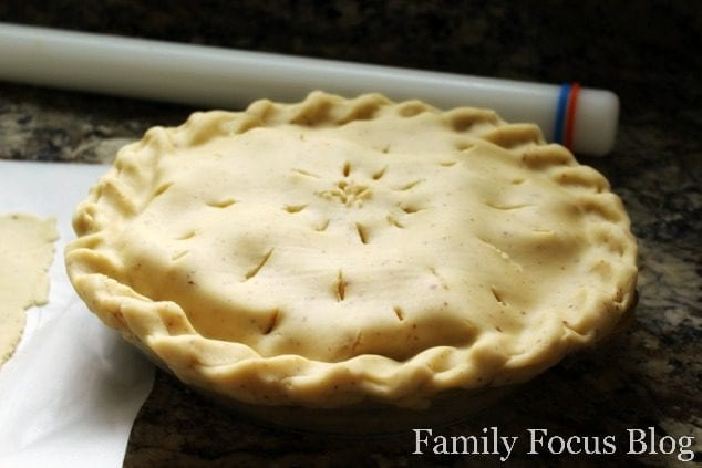 Homemade Gluten Free Pie Crust