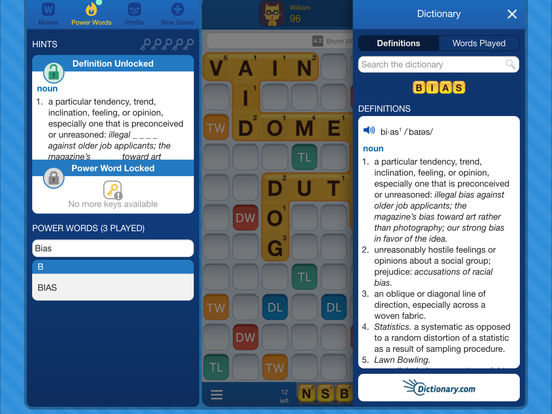 Words with friends edu is available for download in the app store for