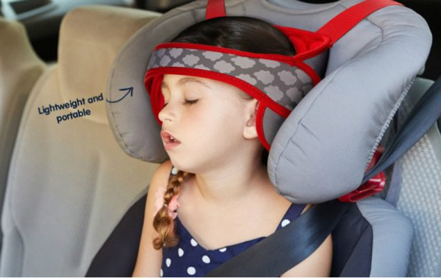 Car Seat Head Support Is Finally Here So Your Child Can