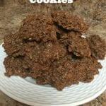 Easy Chocolate Oatmeal No Bake Cookies Recipe