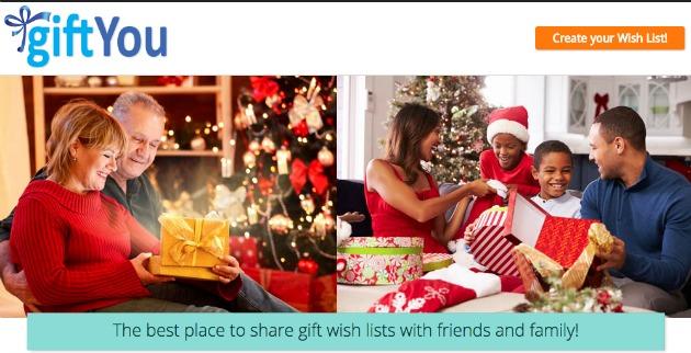gift wish list website