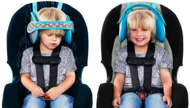 Car Seat Head Support Is Finally Here So Your Child Can Nap Comfortably