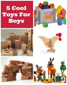 5 Cool Toys For Boys They Won't Want To Put Down