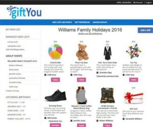 Easily Create And Share A Gift Wish List