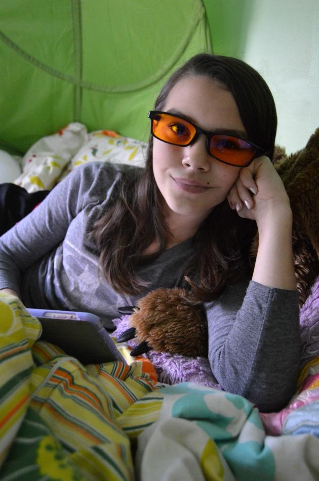 Spektrum Blue Light Filter Glasses Review Family Focus Blog