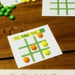 Free Printable St. Patrick's Day Tic Tac Toe Game