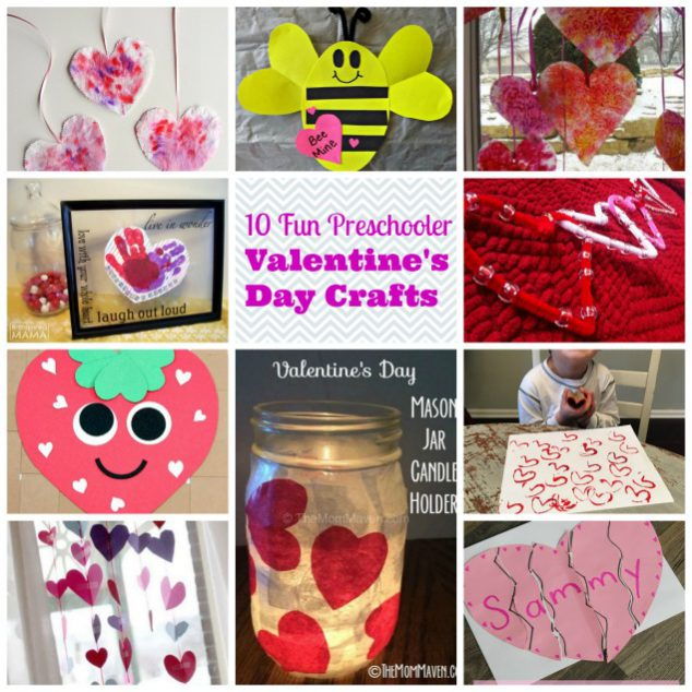 Valentine's Day Crafts Preschoolers